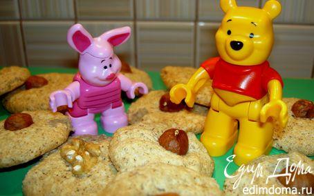 Рецепт Пироженки с орешками