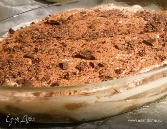 Шоколадно-мятный тирамису