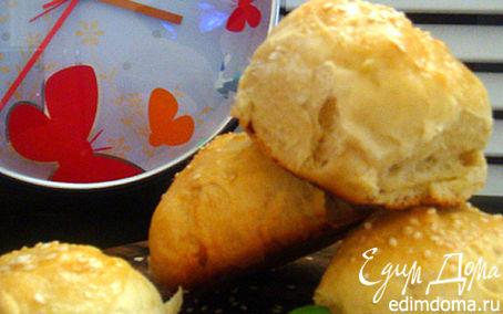 Рецепт Сдобные булочки к завтраку (или...идеально для бутербродов любимому) в хлебопечке