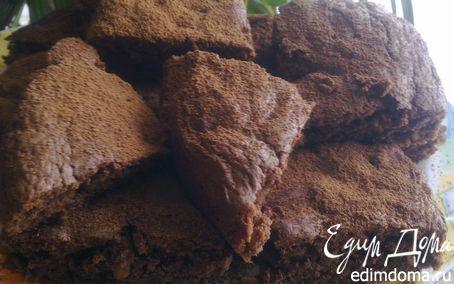 """Рецепт Коврижка """"Браунис"""" с грецкими орехами."""