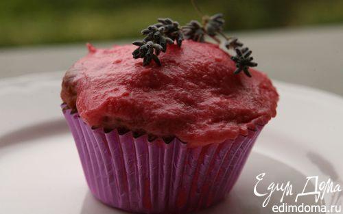 Рецепт Лавандовые пирожные