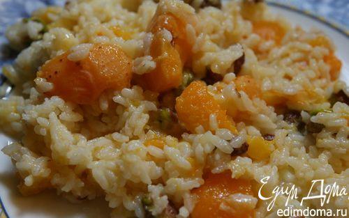 Рецепт Плов с фисташками и абрикосами
