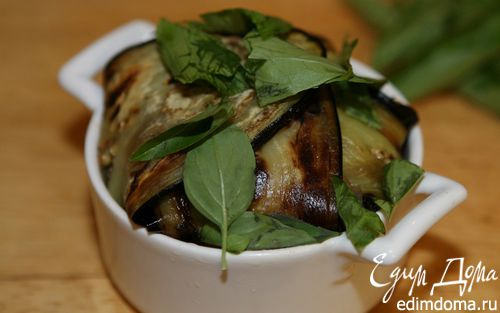 Рецепт Корзинки из баклажанов с телятиной