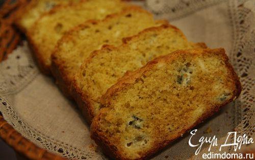 Рецепт Кукурузный хлеб с голубым сыром