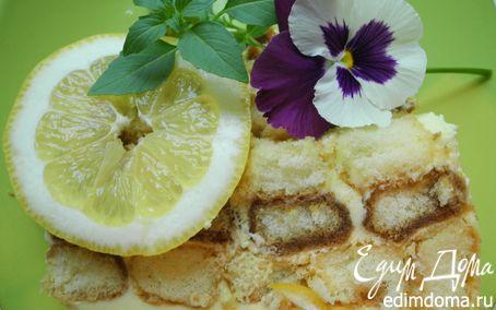 Рецепт Тирамису с лимончелло