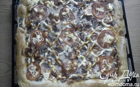 Рецепт пицца. СЕМЕЙНАЯ.