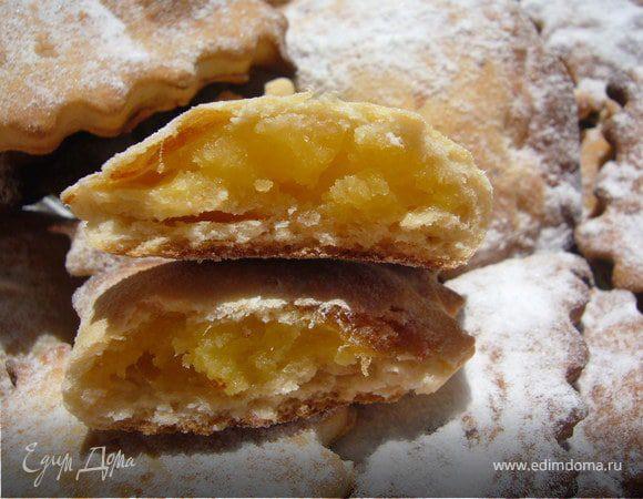 Печенье с миндальным кремом