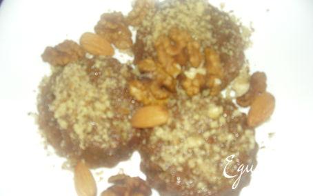 Рецепт Кофейное суфле с шоколадом и орехом