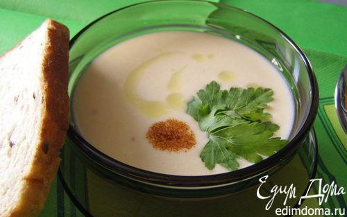 Рецепт Мягкий сырный суп-пюре