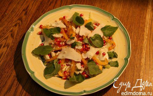 Рецепт Салат из фенхеля и граната