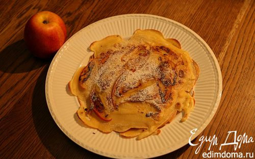 Рецепт Блины с яблоками