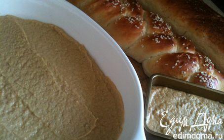 Рецепт Нежнейший мясной паштет на домашних багетах