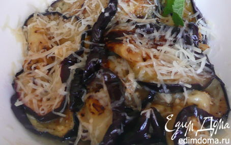 Рецепт Маринованные баклажаны, с сыром пармезан