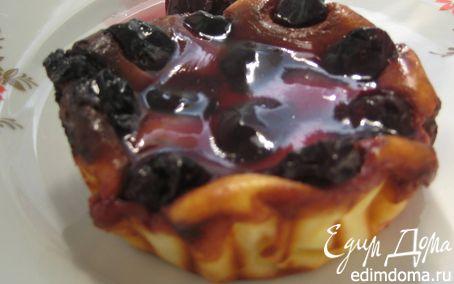 Рецепт Мини-чизкейки с вишней
