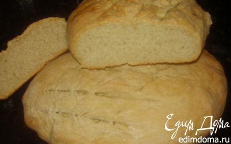 Рецепт Французский хлеб с ржаной мукой