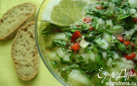 Рецепт Лимонный суп по-сицилийски