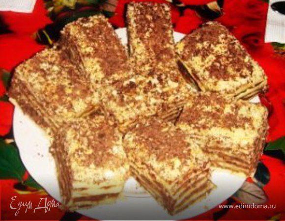 Пирожные шоколадно-медовые