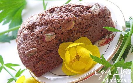 Рецепт Шоколадные кексы с фисташками.