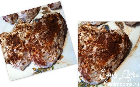 Рецепт Творожно-шоколадные пирожные диетические