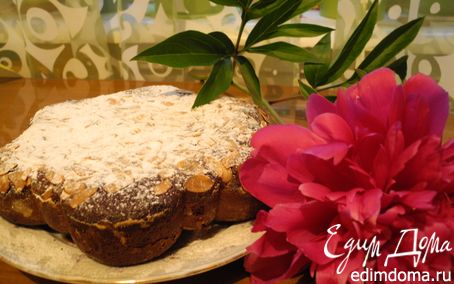 Рецепт Шоколадный миндальный пирог
