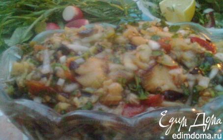 Рецепт Баклажановый салат на мангале