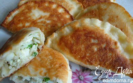 Рецепт Воскресные пирожки с луком, яйцом и рисом