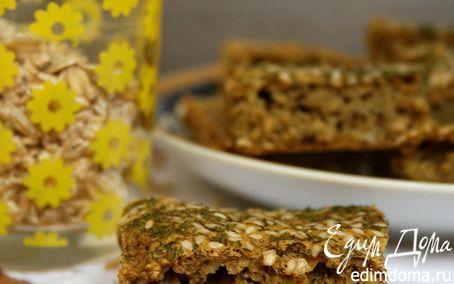Рецепт Ржано-овсяный чесночный хлеб