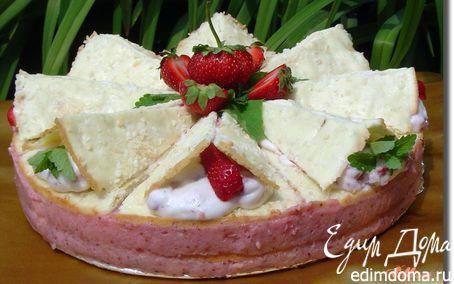 Рецепт Клубнично-кокосовый торт