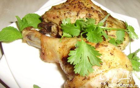 Рецепт Курица с мятным соусом по-ливански
