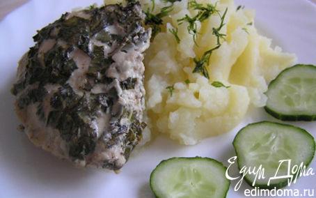 Рецепт Курица в пряном маринаде с мятой