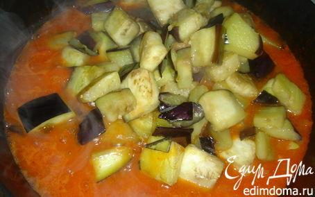 Рецепт Баклажаны в соусе
