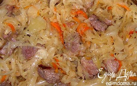 Рецепт Солянка из говядины и квашенной капусты