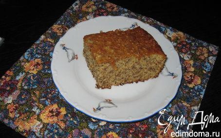 Рецепт Ореховый бисквит