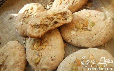 Рецепт Хлеб (цы) с семечками и овсяными хлопьями