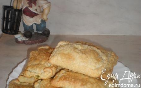 Рецепт Пирожки с сыром фета и шпинатом