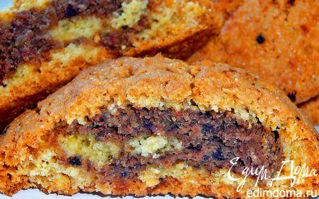 Рецепт Печенье с ореховой и финиковой начинкой.