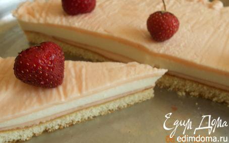 Рецепт Очень легкий тортик (чизкейк без выпечки)