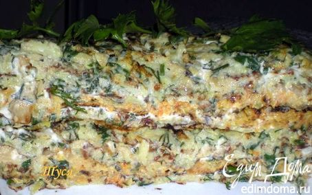 Рецепт Кабачковый торт для Жени
