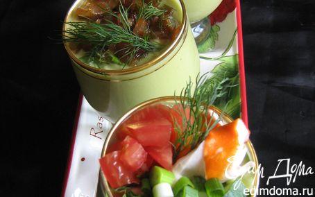 """Рецепт Холодный суп-пюре """"Авокадо и компания"""""""