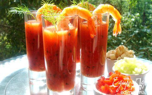 Рецепт Летний томатный суп