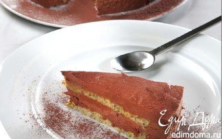 Рецепт Шоколадный торт с фисташками и оливковым маслом