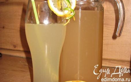 Рецепт Домашний имбирный эль (Ginger Ale)