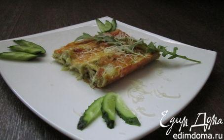 Рецепт Каннелони с творогом и шпинатом