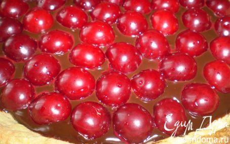 Рецепт Шоколадно-вишневый тарт