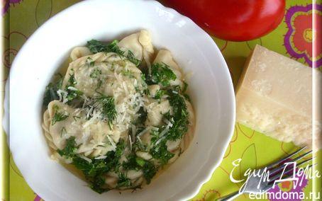 Рецепт Равиоли с печёными овощами и сыром