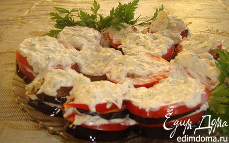 Рецепт Нежная закуска из баклажан