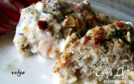 Рецепт Рыбные крокеты в овощной панировке.