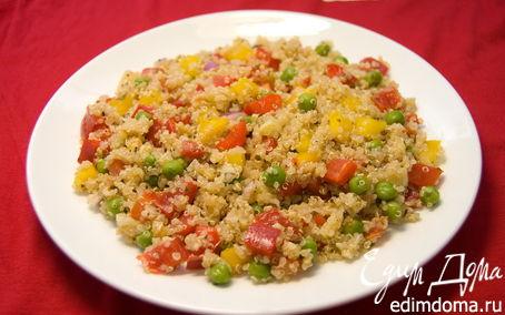 Рецепт Салат с киноа и овощами