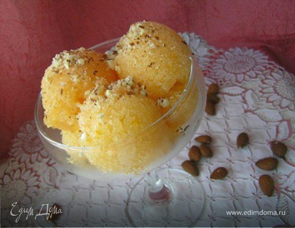 Дынно-апельсиновое сорбе