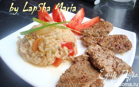 Рецепт Свинина в горчично-соевом маринаде